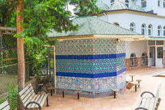 Sadirvan de Hasan Senli Saray Mosque en Alanya Fotografía de archivo