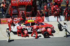 Sadler's Pit Crew Races Again Royalty Free Stock Photography