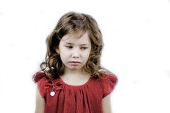 Sadness little girl Royalty Free Stock Photo