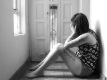 Sadness Stock Image
