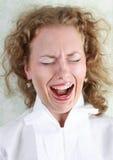 Sadness woman portrait. Beautiful expressing sadness woman portrait stock photos