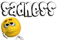 Sadness Word 6 Royalty Free Stock Photo