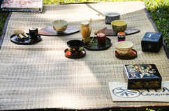 Sado chanoyu or Japanese tea ceremony, also called the Way royalty free stock images