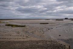 Sado d'estuaire de rivière au Portugal photographie stock libre de droits