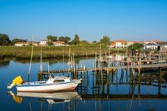 Sado de rivière dans Comporta, l'Alentejo Portugal images stock