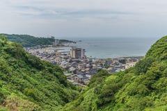 Sadoeiland, Niiagata, Japan stock foto