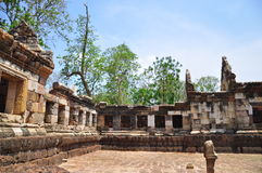 Sadokkokthom城堡 图库摄影