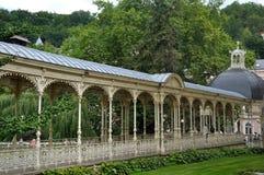 Sadova kolumnada, Karlovy Zmienia, czech obraz royalty free