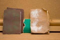 Sadpaper usado imágenes de archivo libres de regalías