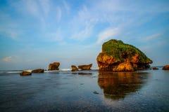 Sadranan海滩 图库摄影