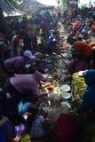 Sadranan nella città di Sendanggede di Samarang Immagine Stock Libera da Diritti