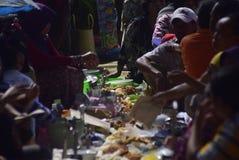Sadranan w Sendanggede mieście Semarang Obrazy Stock