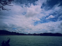 Sads day and Feelling. Sads day in Da Lat, Ho Xuan Huong lakes , famous of travel to VietNam to Da Lat Stock Photos