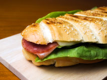 Sadwich Stock Photo