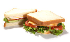 Sadwiches del randello Fotografie Stock Libere da Diritti