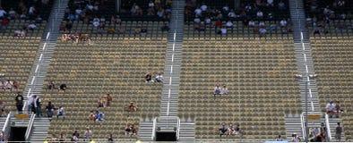 sadza na stadionie Zdjęcie Royalty Free