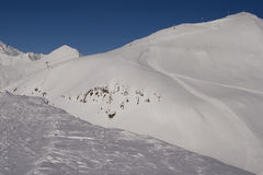 Sadzele Mountain ski resort Royalty Free Stock Photos