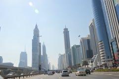 SAE - взгляд на небоскребах Стоковое Изображение RF