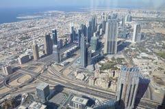 SAE - Wolkenkratzer Burj Khalifa Stockbilder