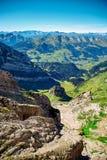 Saentis berglandskap Royaltyfri Fotografi
