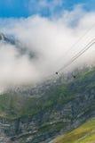 Saentis Seilbahn, Schwaegalp - Schweiz Royaltyfri Fotografi