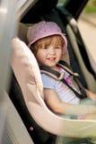 Saet auto de la seguridad del niño Imágenes de archivo libres de regalías