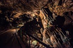 Saeva Dupka Cave, Bulgaria Royalty Free Stock Photos