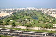 Safa公园在迪拜 免版税图库摄影