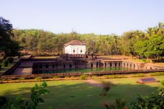 Safa Masjid, Ponda, Goa, μνημεία Goa κληρονομιάς Στοκ εικόνες με δικαίωμα ελεύθερης χρήσης