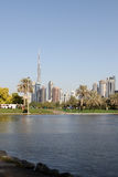 Safa Park in Dubai Stock Photo