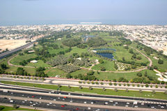 Safa park  in Dubai Royalty Free Stock Photography