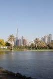 Safa park w Dubaj zdjęcie stock