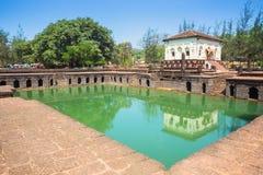 Safa Shahouri Masjid, Phonda,果阿,印度 免版税库存图片