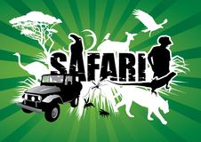 safari Royaltyfria Bilder