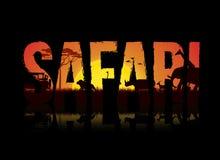 safari vector illustratie