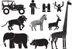 safari royalty-vrije illustratie