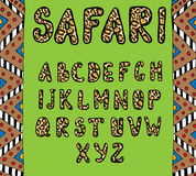 Safari ABC Stock Photography