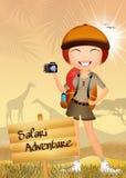Safari adventure Royalty Free Stock Photography