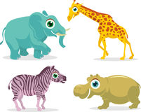 Safari Animals Royalty Free Stock Image