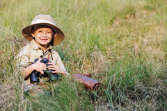 Safari boy Stock Photos