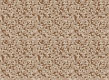 Safari camouflage seamless pixel pattern Stock Images