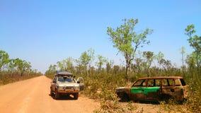 Safari campo a través del desierto fotos de archivo libres de regalías