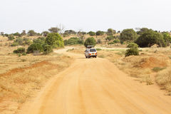 Safari Car In Kenya, editorial Stock Photos