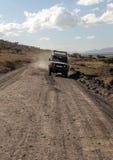 Safari car Royalty Free Stock Photo