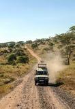 Safari car Stock Photo