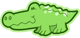 Safari Crocodile Vector Stock Photography