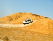 Safari dans le désert de Sahara Photographie stock