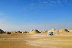 Safari dans le désert du Sahara, Afrique Images libres de droits