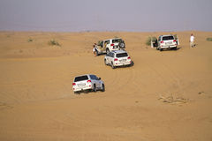 Safari de désert à Dubaï Images stock