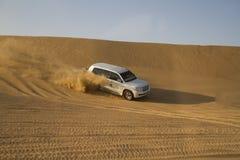 Safari de désert à Dubaï Photographie stock libre de droits